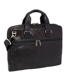 Aviano Slim Leather Brief Alpha Bravo