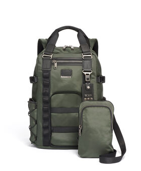 Barracks 2-in-1-Rucksacktasche Alpha Bravo