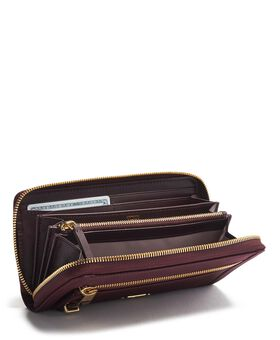 Europäische Brieftasche mit Rundumreißverschuss Voyageur Slg