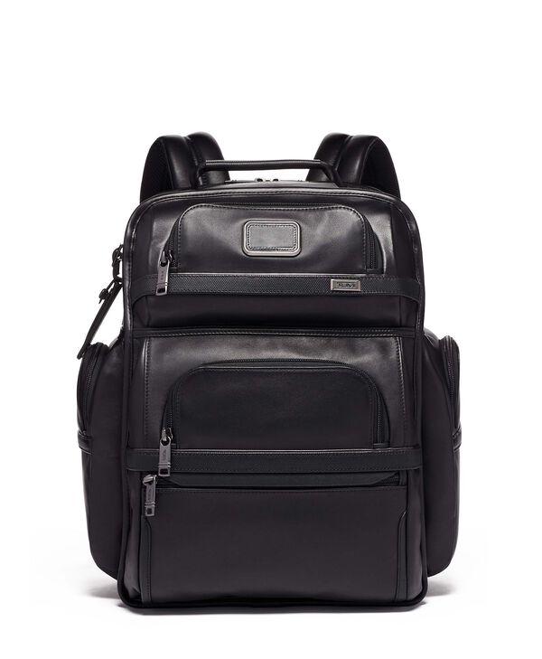Alpha 3 TUMI T-Pass® Business Class Brief Pack® aus Leder