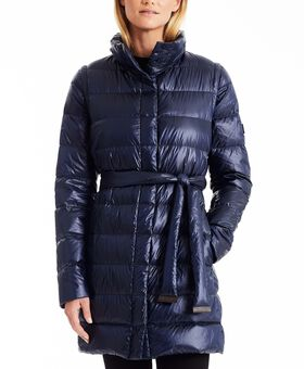 Women's Belted 2-in -1 Walker Jacket Outerwear Womens