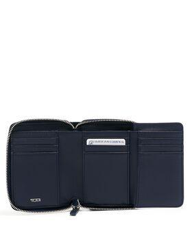 Dreifach-Brieftasche mit umlaufendem Reißverschluss Voyageur Slg