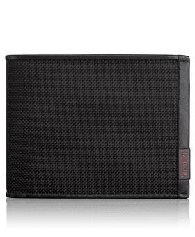 TUMI ID Lock™ Globale Brieftasche mit 2 Scheinfächern Alpha